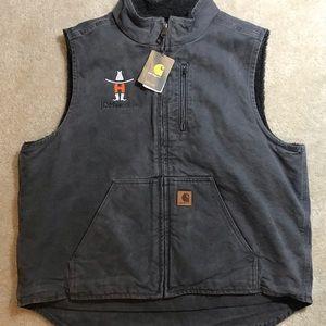 NWT Carhartt Men's Sherpa Vest